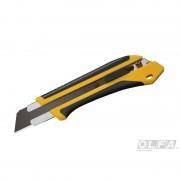 Cuchillo Extra Fuerte de 25 mm con Incrustación Antideslizante y Seguro Automático