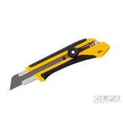 Cuchillo Extra Fuerte de 25 mm con Incrustación Antideslizante y Seguro Manual
