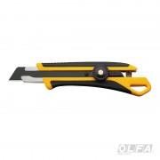 Cuchillo Industrial con Incrustación Antideslizante con Agujero de Enganche y Seguro Manual