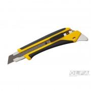Cuchillo Industrial de 18 mm. con Incrustación Antideslizante y Seguro Automático